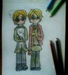 [APH] Canada and America by Djeidi-123