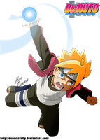 Boruto's Rasengan by DennisStelly