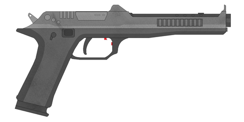 PC-1 Pistol Hand Cannon by Artmarcus
