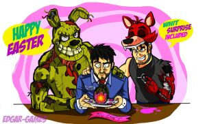 Happy Easter Everyone! Whit Surprise included/FNAF by Edgar-Games