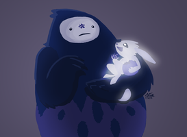 Ori and the Blind Forest by TheChildInTheCorner
