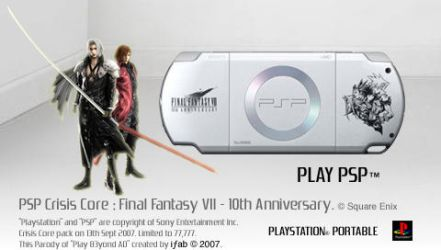CrisisCore FinalFantasy7 - PSP by iFab