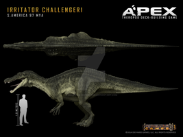 Irritator challengeri by Herschel-Hoffmeyer