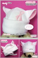 Charity Cat Hat - Pink Riddbon by shiricki