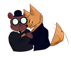 Gregg and Angus by SmolBee105
