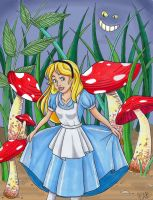 Alice in Wonderland by ParadoxParade