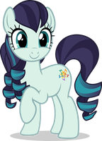 Mlp Fim countess coloratura (happy) vector [FIX#2] by luckreza8