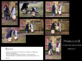 Homeless II pack by Mithgariel-stock