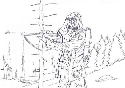Colouring Sniper by YikYik