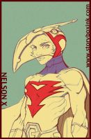 Gatchaman Rough by NelsonX