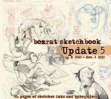 Sketchbook Update #5 Aug. 8 - Nov. 4, 2015 by HJeojeo