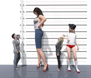 Childhood Sweetheart - Height Chart by harafung