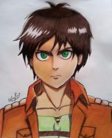 Eren Jaeger drawing by iamuday