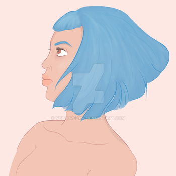 Blue Is The Warmest Colour by corpsetrashparty