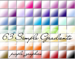 PS Gradients - Simple White by purple-feenix