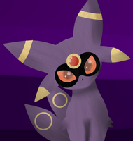 EspeonxUmbreon fusion by theshadowpony357