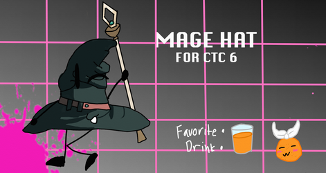 Mage Hat for CTC 6!! by YoshiJr11