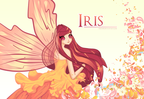 Iris wallpaper by Fiesonie
