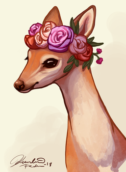 The floral crown by hopeakorento