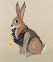 Mr. Bunny by racehell