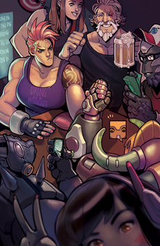 tank armwrestle night by kakimari