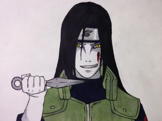 Orochimaru (Colored Version) by sasukeuchiha1027