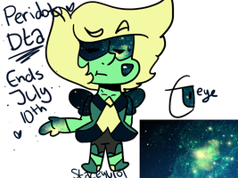 .:Galaxy Peridot DTA OPEN:. by SleepyStaceyArt