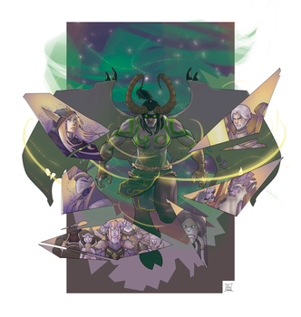 Shadow of Argus Art Contest by Wachino