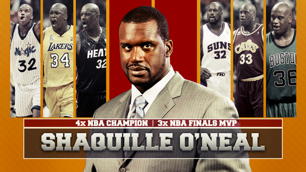 Shaquille O'Neal by thriller008