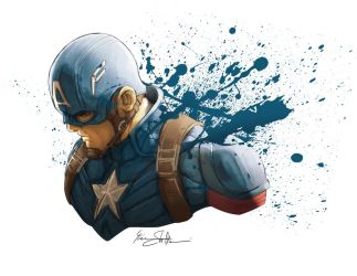 Captain America by Iantoy