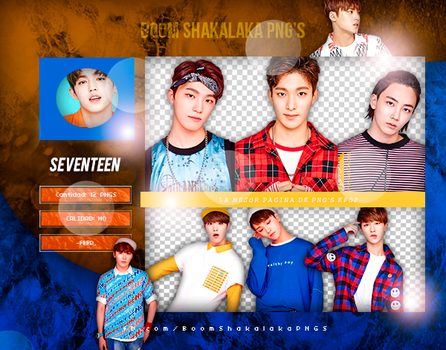 +Pack Png Seventeen|04 by Pohminit