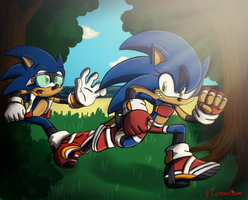 Contest Entry - Hey ! Wait for me ! by Karneolienne