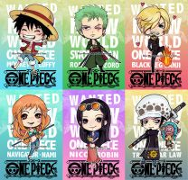 One Piece Chibis New World by StarMasayume