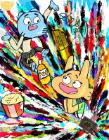 The Amazing World of Gumball by selom13