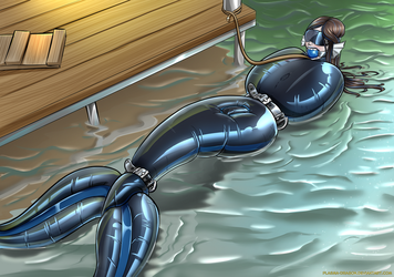 Rae afloat by Plasma-dragon