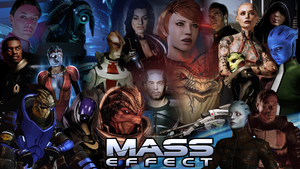 Mass Effect - Normandy's Crew by Camuska