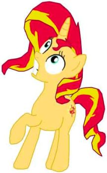 Surprise Sunset Shimmer by danparkerstudios