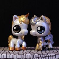 LPS customs: Rampart horses (HoMM3) by pia-chu