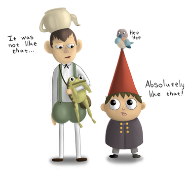Wirt and Greg by PicassoProtege