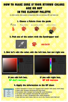 + Ryuunu - Correct Colors Guide (Saturation) + by Cachomon