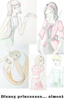Princess sketch dump by Stormys-toyshop