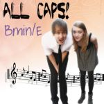 All Caps BminE artwork by Obliviatethemoon