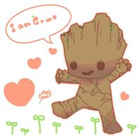 Baby Groot by and38upaco