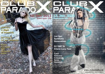 Flyer: Paradox JAN 2013 by AeWolf