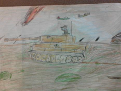 Tiger Tank by GeneralsAlert