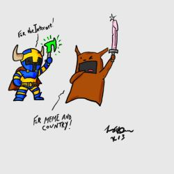 Dust Piggies and Viking by IndieGrunge