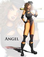 GLOW Angel by andre4boys