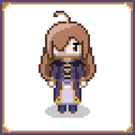 [Konosuba] Wiz Pixel Art by DigiSolstice