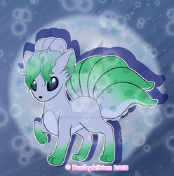 Vulpix (Water Type) by causticfiredrake