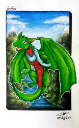 Griffin the Adventurous by CrazyDragon2000